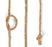 Jute rope Royalty Free Stock Photos