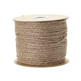 Jute rope roll Royalty Free Stock Photo