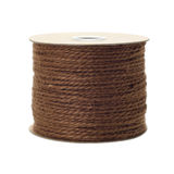 Jute rope roll Royalty Free Stock Images