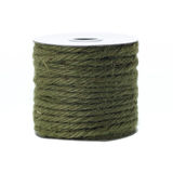 Jute rope roll Royalty Free Stock Photography