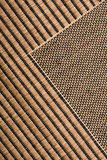 Jute rug Royalty Free Stock Image