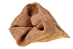 Jute sack. Royalty Free Stock Photo