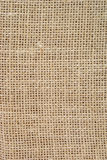 Jute sack. Texture of old sack made of jute as background Royalty Free Stock Images