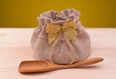 Jute sack Stock Photo
