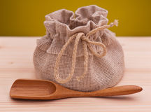 Jute sack Stock Images