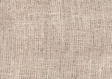 Jute texture, natural linen background Stock Image