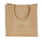 Jute Tote Bag Royalty Free Stock Photos