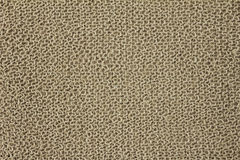 Jute yarn knitted fabric Royalty Free Stock Images