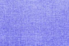 Juteachtergrond die in blauw en wit mengsel wordt gekleurd royalty-vrije stock afbeelding