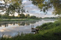 jutrzenkowa rzeka obrazy royalty free