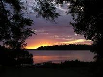jutrzenkowa rzeki fotografia stock