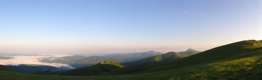 jutrzenkowe stare góry Zdjęcia Royalty Free