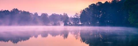 Jutrzenkowy światło Obrazy Royalty Free