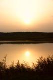 jutrzenkowy jezioro Obraz Stock