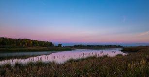 jutrzenkowy jezioro Zdjęcia Royalty Free