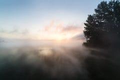 jutrzenkowy jezioro Fotografia Stock