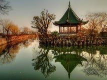 jutrzenkowy liyuan park Obrazy Stock