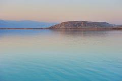 jutrzenkowy nieżywy morze zdjęcia stock