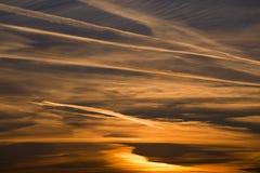 Jutrzenkowy niebo Zdjęcia Royalty Free