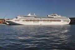 Jutrzenkowy Princess statek wycieczkowy zdjęcia royalty free