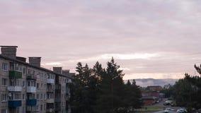 Jutrzenkowy słońce 4K Timelapse zbiory