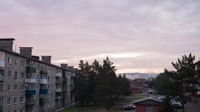 Jutrzenkowy słońce 4K Timelapse zdjęcie wideo