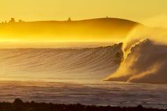 Jutrzenkowy surfingowiec Zdjęcie Royalty Free