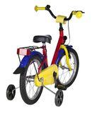 Juvenile bicycle Royalty Free Stock Image