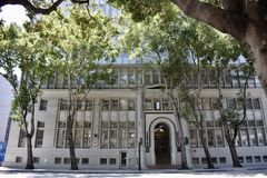 From juvenile court and detention center to shelter for homes Vets. When this, now San Francisco Landmark building first opened in 1916, it started out as the stock photography
