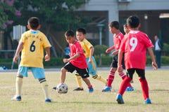 Juvenile football Royalty Free Stock Image