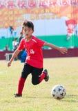 Juvenile football Royalty Free Stock Photo