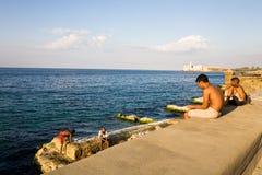 Juventud cubana en La Habana, Cuba Fotos de archivo libres de regalías
