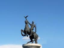 Juventud de Buriatia, la estatua de Ulán Udé fotos de archivo