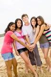 Juventud feliz Fotografía de archivo libre de regalías