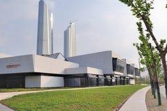 Juventud internacional Art Center de Nanjing Imagenes de archivo