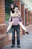 Juventude, amor, caso amoroso, amigos, amantes Fotos de Stock Royalty Free