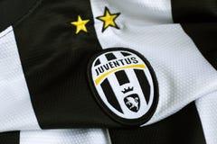 Juventus emblem royaltyfria bilder