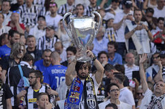 Juventus fans Royalty Free Stock Photos