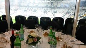 Juventus legend. Juventus stadium Turin november Royalty Free Stock Photos