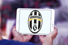 Juventus soccer club logo Royalty Free Stock Image