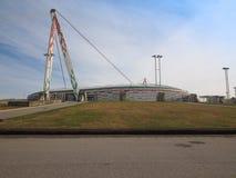 Juventus stadion i Turin Arkivfoton
