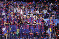 Juventus v FC Barcelona - UEFA Champions League Final Royalty Free Stock Photo