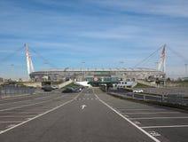 Juventusstadion in Turijn Royalty-vrije Stock Foto