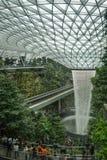 Juwel Changi-Flughafen stockbilder