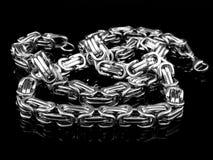 Juwel-Halskette - Edelstahl lizenzfreies stockfoto