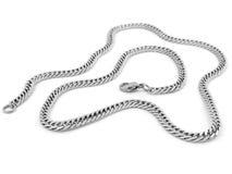 Juwel-Halskette - Edelstahl stockfotografie