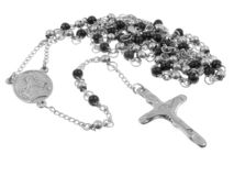 Juwel-Halsketten-Rosenbeet 375 Magnumrevolver stockbild