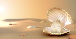 Juwel-Haus lizenzfreie stockbilder