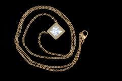 Juwel - Luxushalskette für Frauen lizenzfreie stockfotografie