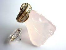 Juwelen drie royalty-vrije stock afbeelding